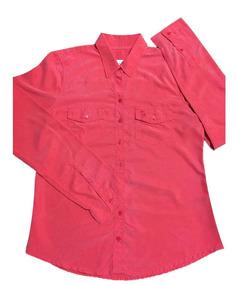 Abercrombie Camisa Social Feminina G Nova Importada Original