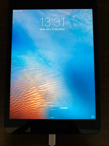 iPad Mini Apple ( Preto )Capacidades 60gb Modelo A1453