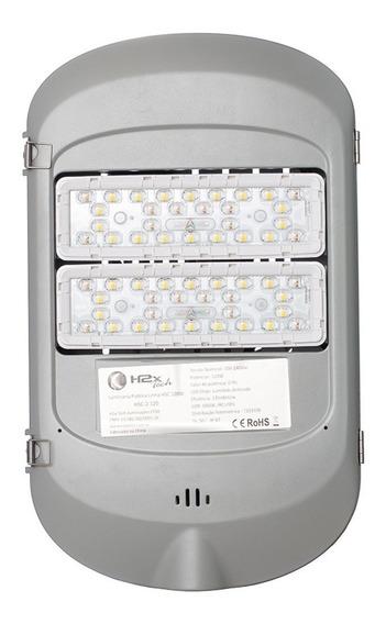 Luminária Pública Led 120w Real - 5 Anos Garantia