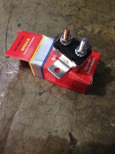 Fusible Térmico De 20, 30 Amperios Con Base Automotriz