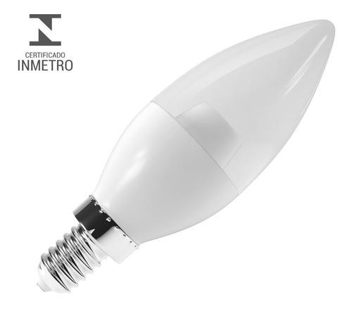 Luminatti - Vela Transparente Led 6w 6000k Bivolt E14