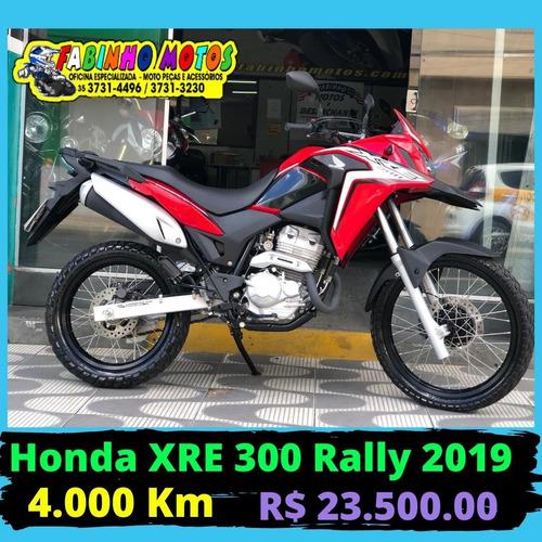 Honda Xre 300 Abs Rally 2019 Estado De Zero!!!