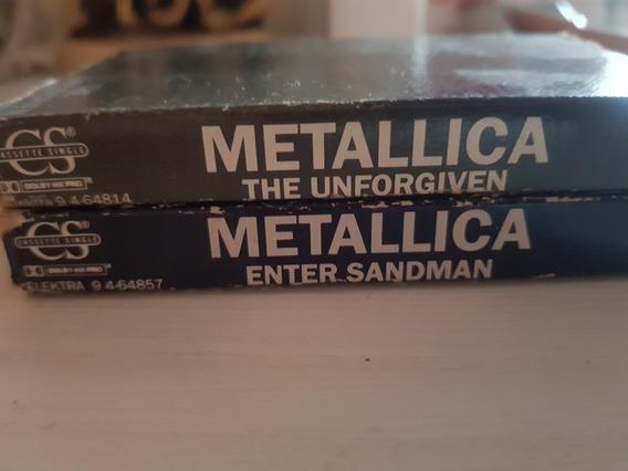 Metallica Singles Unforgiven-enter Sandman Cassette