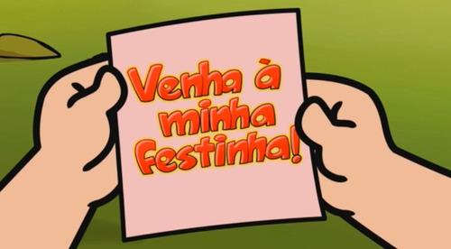 Turma Da Mônica - Convite Virtual Animado Aniversário Festa