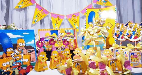 Imagem 1 de 5 de Kit Festa Em Casa Os Simpsons