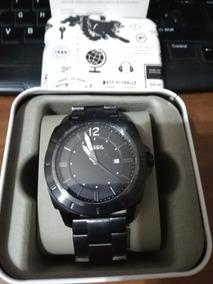ad2b2a83e29a Reloj Fossil Caballero Negro Mate - Joyas y Relojes en Mercado Libre ...