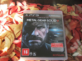 Metal Gear Solid V Ground Zeroes Mídia Física Ps3 Frete 12