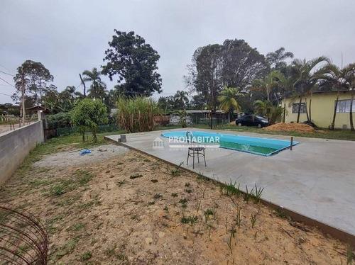 Imagem 1 de 12 de Chácara Com 4 Dormitórios À Venda, 1500 M² Por R$ 350.000,00 - Embu Guacu - Embu-guaçu/sp - Ch0205
