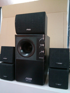 Home Theater 5.1 Speed Mod Sps 501