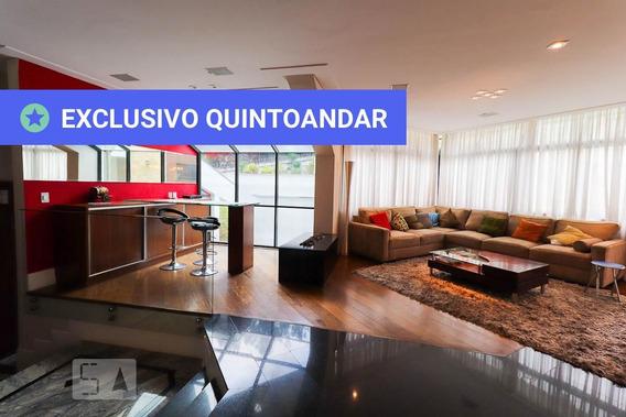 Casa Em Condomínio Mobiliada Com 4 Dormitórios E 8 Garagens - Id: 892955172 - 255172