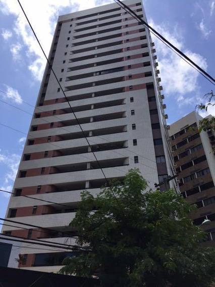 Edf. Saint Bernard - Apartamento Com 4 Dormitórios Para Alugar, 145 M² Por R$ 2.400/mês - Rosarinho - Recife/pe - Ap3973