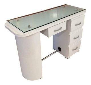 Mesa Para Uñas Mod. Aries C/cristal