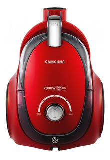 Aspiradora Samsung VC20CCNMA 1.5L roja