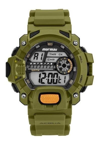 Relógio Mormaii Masculino Ref: Mozm1132/8v Acqua Verde