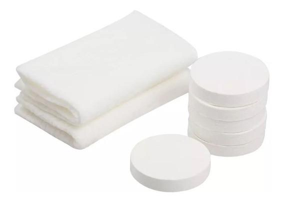 Midland Bedding Juego de 8 toallas de algod/ón varios colores trama de 400 g//m/²