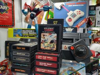 Atari 2.600-72 Juegos Internos+25 Juegos Físicos,45 Verdes