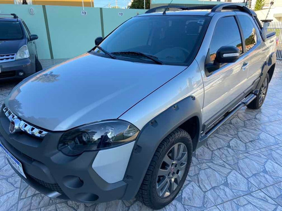 Fiat Strada 2019 1.8 16v Adventure Cab. Dupla Flex 3p