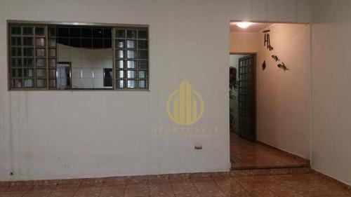 Imagem 1 de 15 de Casa 3 Dormitórios Com Suíte À Venda, Residencial E Comercial Palmares, Ribeirão Preto. - Ca0580