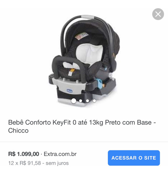 Bebe Conforto Chicco Keyfit