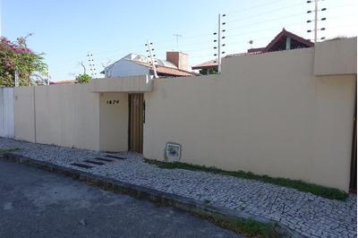 Casa Em Engenheiro Luciano Cavalcante, Fortaleza/ce De 354m² 4 Quartos Para Locação R$ 4.500,00/mes - Ca135516