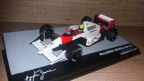Miniatura Mclaren Mp 4/5 Senna 1:43 Lendas Brasileiras N 19