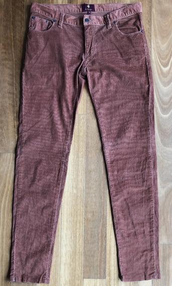 Pantalon El Burges - Corderoy Pana Talle 30 Impecable