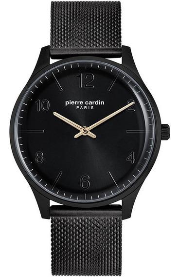 Reloj Pierre Cardin A.pc902711f113 Acero Negro Matte Hombre