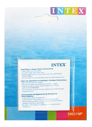 Imagen 1 de 5 de 6 Parches Adhesivos Para Salvavidas Inflables Intex 59631