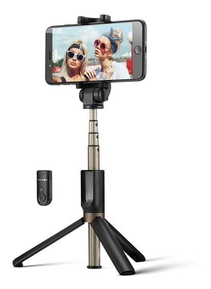 Bastão De Selfie Tripé Blitzwolf Bw Bs3 Bluetooth Original