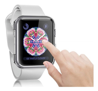 Capa Proteção Case Silicone Apple Watch 42mm Serie 1/ 2/ 3