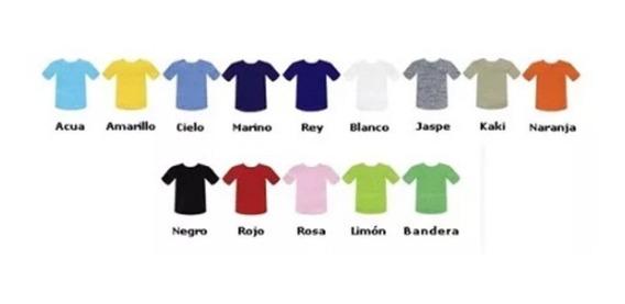 Playera Tipo Polo, Dif Colores, Mayoreo 25pzas Envío Gratis