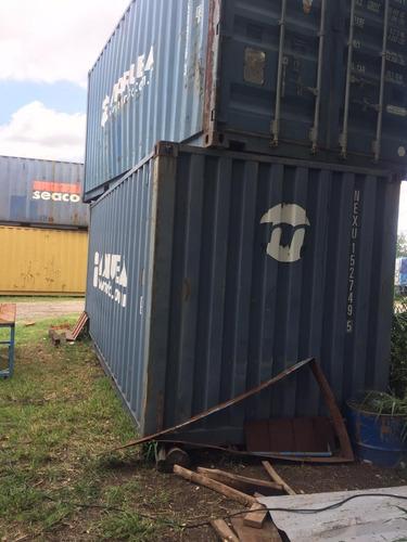 Containers Marítimos Contenedores 40' Hc Usados Nacionalizad