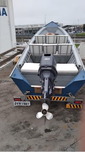 Barco De Aluminio 6 Metros Dura Boats