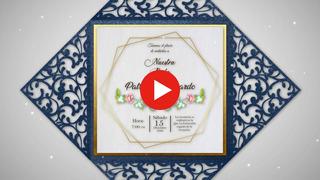 Tarjetas Invitacion Para Boda Valencia Recuerdos Cotillón