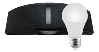 Aplique Bidireccional Exterior Interior Con Led 9w Miler