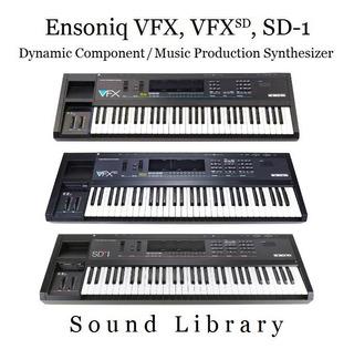Librería De Sonidos Para Ensoniq Vfx (también Vfx/sd, Sd-1)
