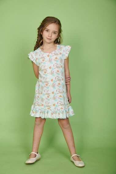 2x1 En Vestidos Estampados Para Nenas Talle 4 Al 16