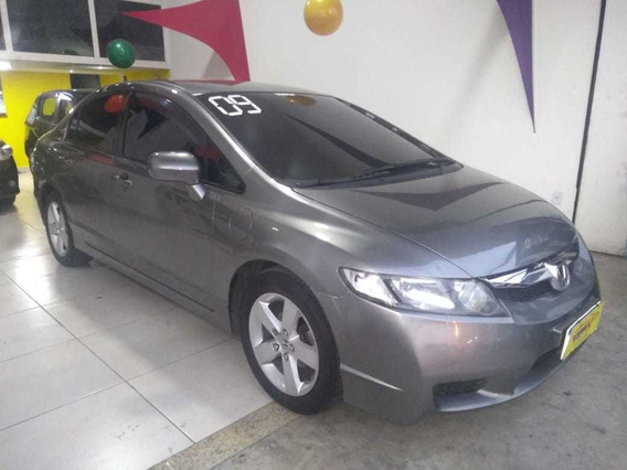 Honda Civic Lxs - 2009 - Cinza