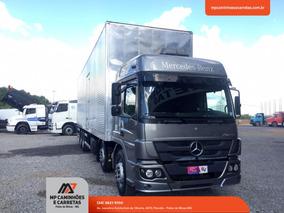 Caminhão Mercedes-benz Mb Atego 3030 Bitruck Baú Carga Seca