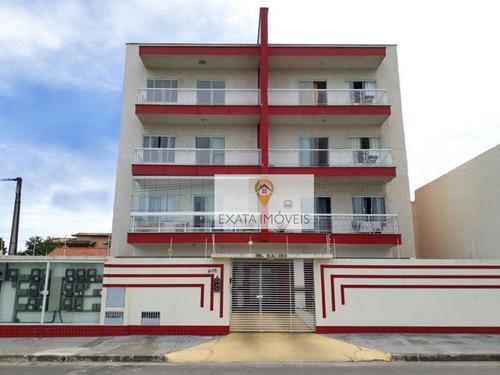 Apartamento 02 Quartos A 150m Da Rodovia, Jardim Mariléa/atlântico. - Ap0122