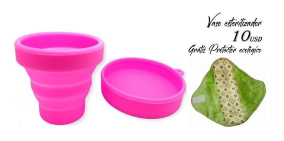 Esterilizador De Copa Menstrual - Gratis Protector Ecológico