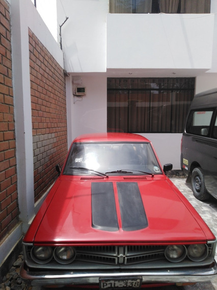 Toyota Corona Año 1974 Con Motor Oroginal 6r, Color Rojo
