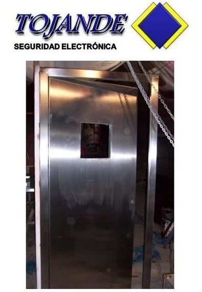 Puerta Blindada Con Mirilla Nivel V - Tojande