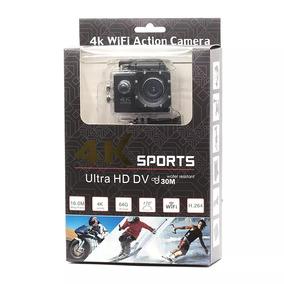 Câmera Go Pro Action Cam Ultra 4k Sports Wifi Hd Prova Dágua