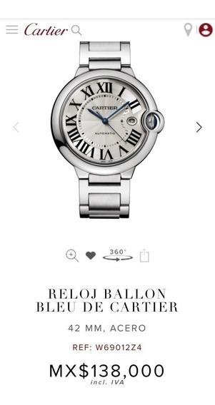 Reloj Cartier Ballon Bleu 42mm