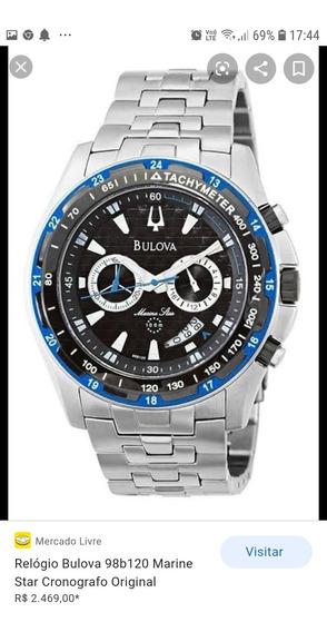 Relógio Bulova Marine Star Azul