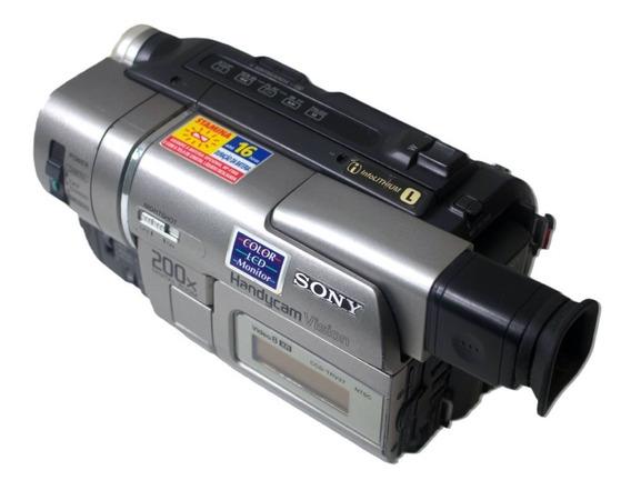Câmera Filmadora Sony Handycam Xr 8mm Video8 Trv37 Ntsc