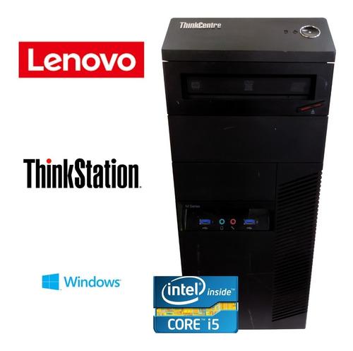 Cpu Lenovo I5 - Ram 4gb - 500 Hd + Brindes
