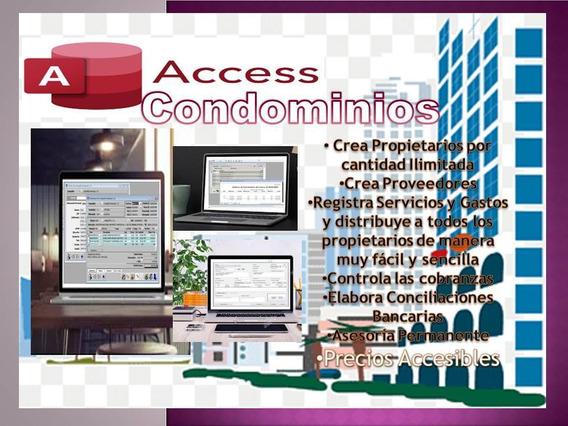 Sistema Para Administracion De Condominios (access)