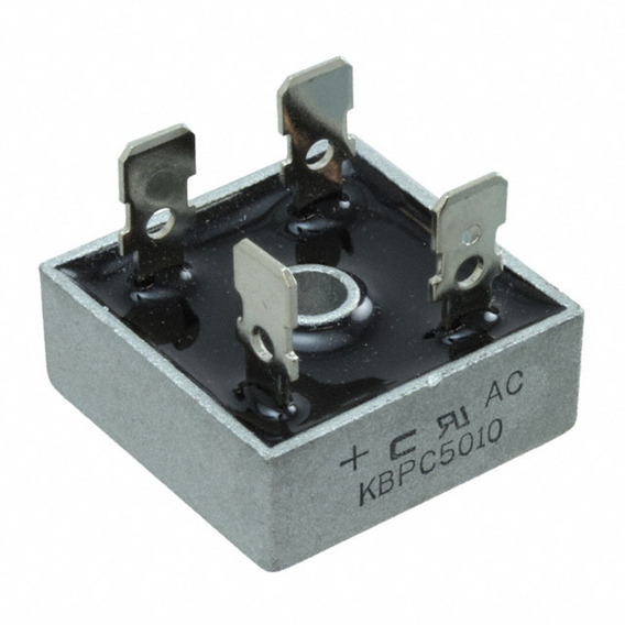 Kbpc5010 Puente De Diodo 50a 1000v Reemplaza Mb3510 Kbpc3510